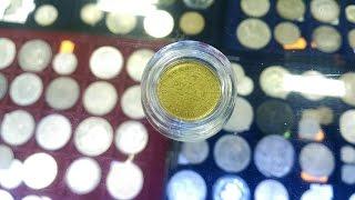 металлоискатель MINELAB X-TERRA 705. Тесты на золотые монеты