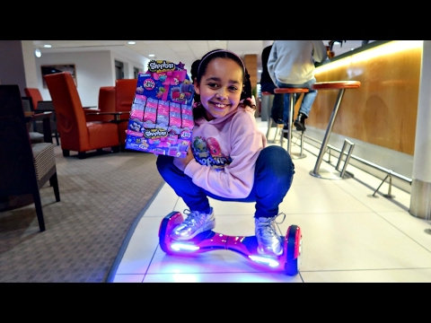 Thumbnail: HOVERBOARD CHALLENGE! Topkins! Shopkins! NEW Season 7 Shopkins Surprise Toy Opening - Toys AndMe