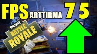 FORTNITE FPS ARTTIRMA KESİN ÇÖZÜM TÜRKÇE (Battle Royale FPS nasıl arttırılır - Türkçe Boost)