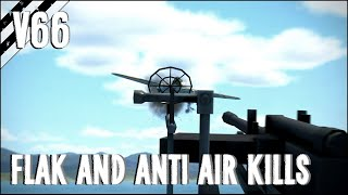 Flak, Anti-Air Kills, Crashes, and More! | IL-2 Great Battles