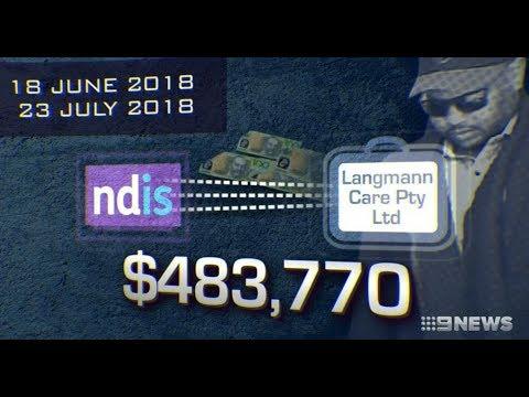 Nine + Seven News. Muslim Man Scams Disabled People $483K?(NDIS)