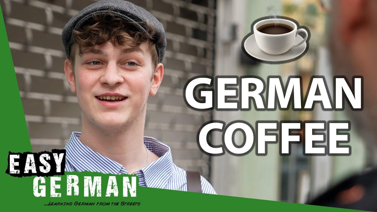 How Germans Drink Their Coffee | Easy German 410