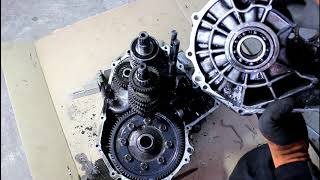 Снятие и ремонт коробки передач на Chevrolet Aveo 1,2 Шевроле Авео 2009 года  2часть
