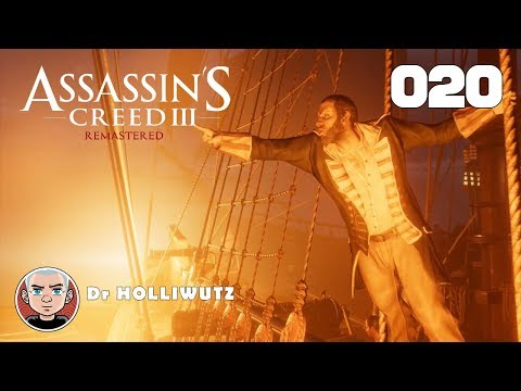 Assassin's Creed III #020 - Fort Wollcott & Dead Chest Island [PS4] | Let's play AC3 remastered