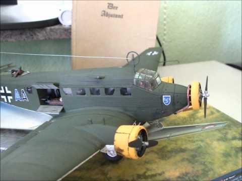 SPECIAL VIDEO: Italeri Ju-52 \