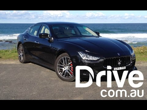 Maserati Ghibli S 2014 Video Review | Drive.com.au