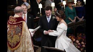 Вторая за год королевская свадьба: внучка Елизаветы II вышла замуж