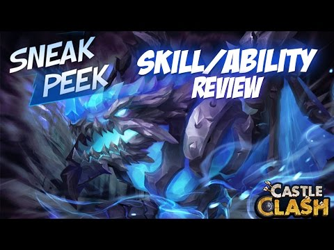 Castle Clash Artica Skill/Ability Review &Thoughts!