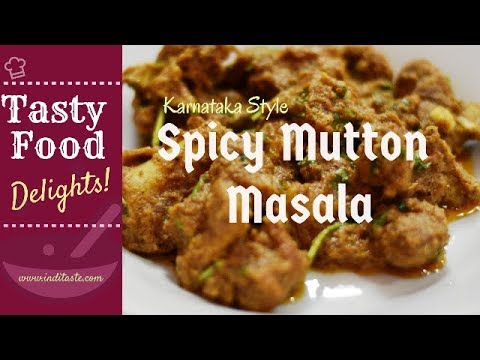 Spicy Mutton Masala | Mutton Varval Karnataka style | Gravy | Keto and Paleo friendly