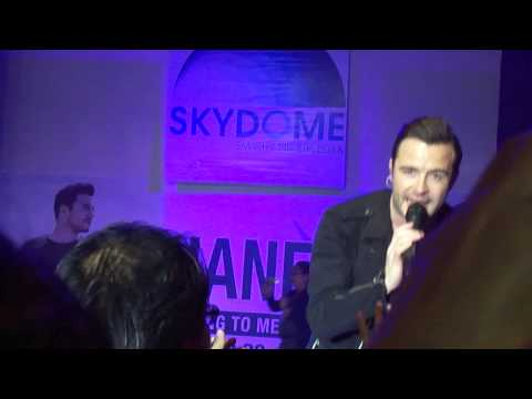 "Shane Filan - ""About You"" Live at the SkyDome September 28, 2013"