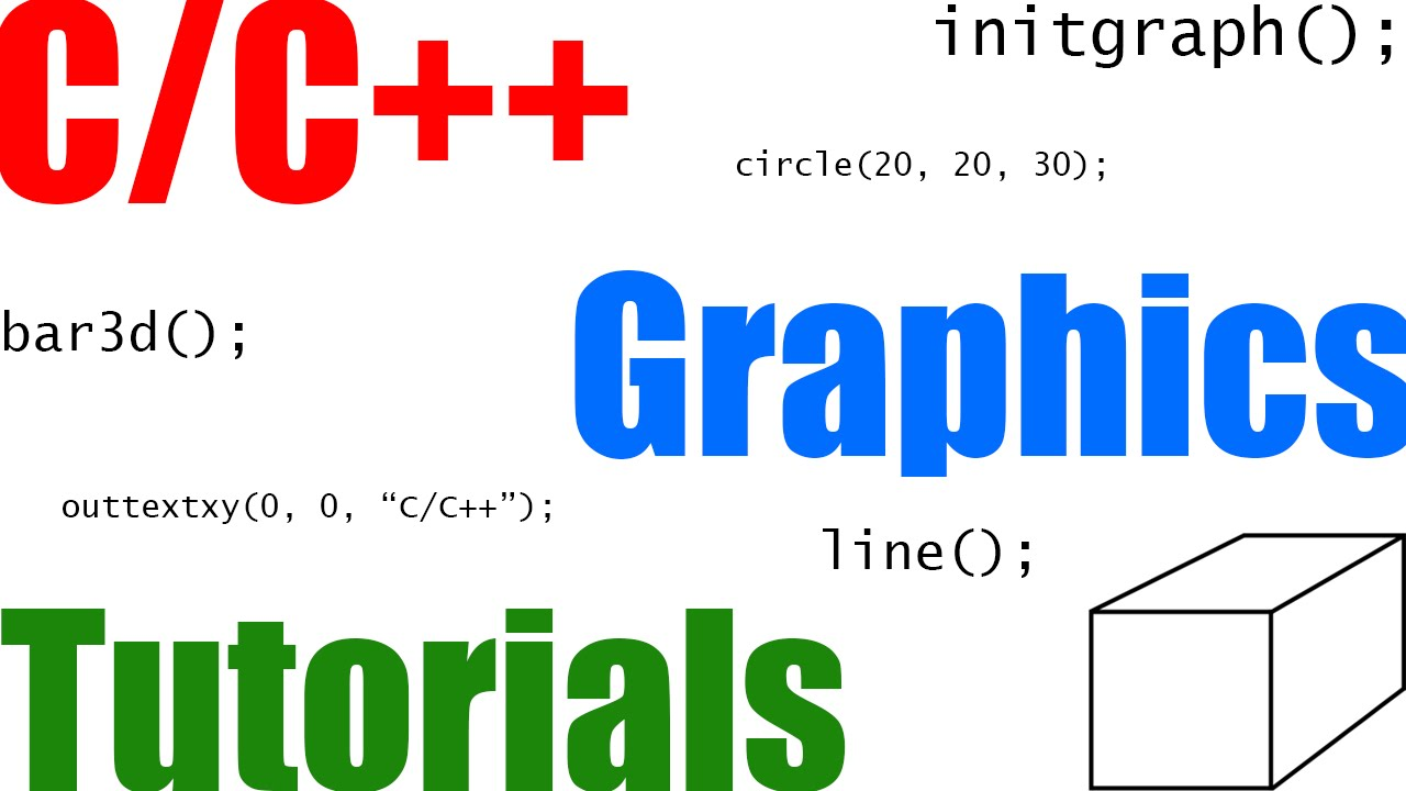 C C++ Graphics Using graphics.h
