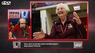 Will Missing The NCAA Tournament Affect Sister Jean's Draft Stock?