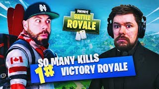 CRAZY DUO WIN with NEPENTHEZ!!! HIGH KILL GAMEPLAY - Fortnite: Battle Royale Season 4