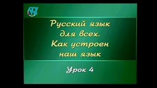 Русский язык для детей. Урок 1.4. Звуки гласные и согласные