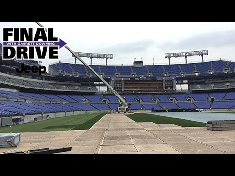 Behind-The-Scenes Look At Stadium Video Boards | Final Drive | Baltimore Ravens