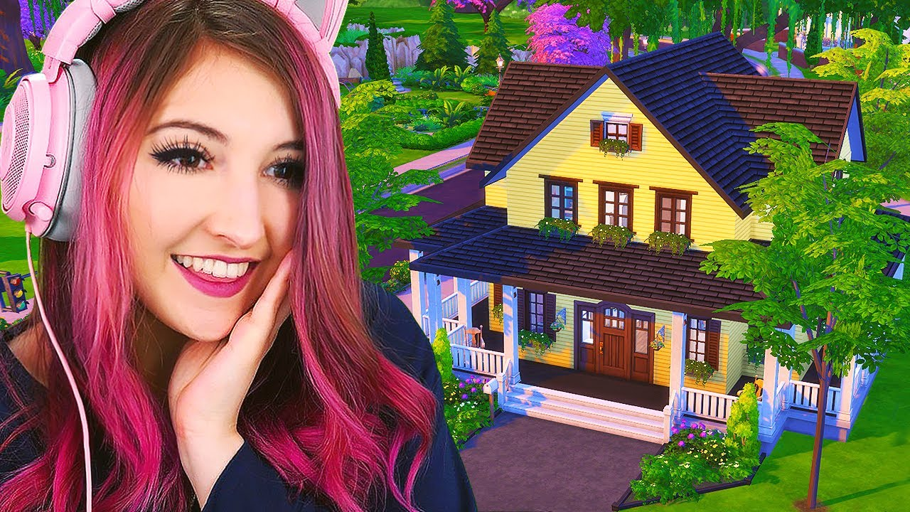 Building a DREAM Home in Sims 4...for a grandma