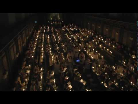 Advent Carol Service 2012 - Trinity College Chapel