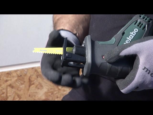 Metabo Akku-Säbelsäge / Cordless Sabre Saw SSE 18 LTX Compact
