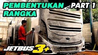 Download Video MODIFIKASI BUS LAWAS JADI JETBUS3+ KALINGGA JAYA | PART1 MP3 3GP MP4
