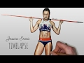 Speed Drawing: Jessica Ennis Hill