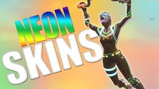 *NEW* NITELITE - LITESHOW - GLOW STICK - GLOW RIDER SKINS! *NEON SKINS* (Fortnite Battle Royale)