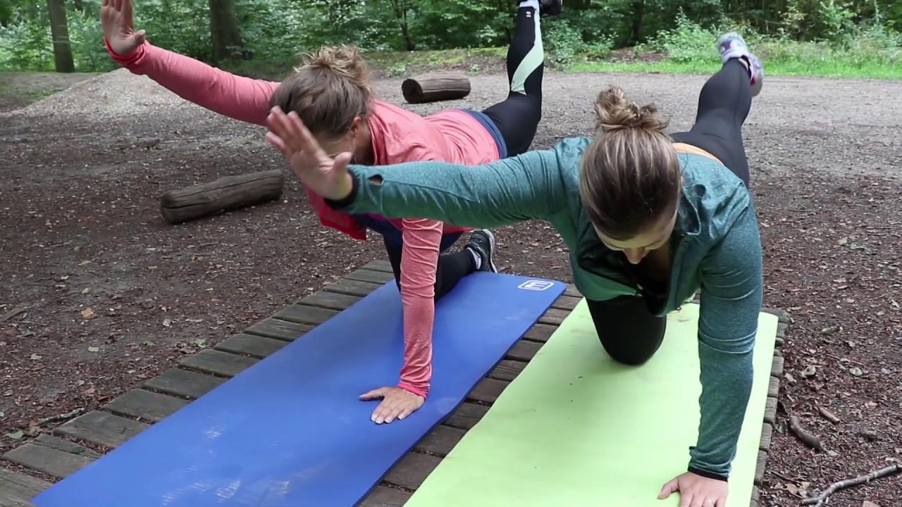 Mor/baby - træning i naturen ved FOF Aarhus