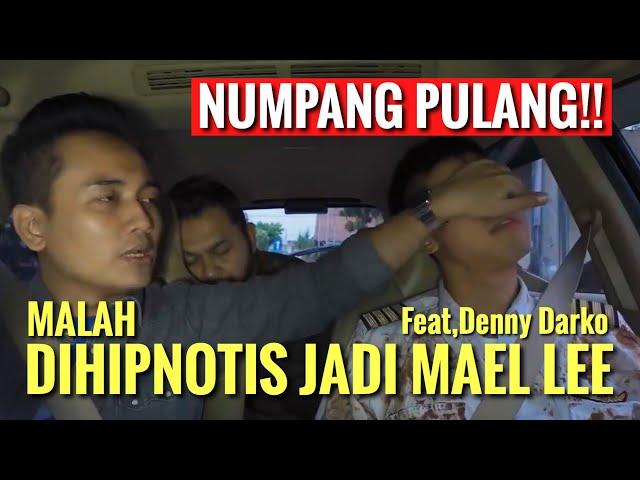 NUMPANG PULANG!! Malah Di HIPNOTIS Jadi MAEL LEE GAWAT ft. Denny Darko - Pilot Apes Part 4