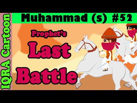 After Prophet's Last Battle: Prophet Stories Muhammad (s) Ep 52 | Islamic Cartoon | Quran Stories