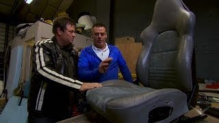 Restoring Leather Seats | Wheeler Dealers