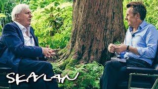 Interview with BBC's legendary Sir David Attenborough   SVT/TV 2/Skavlan