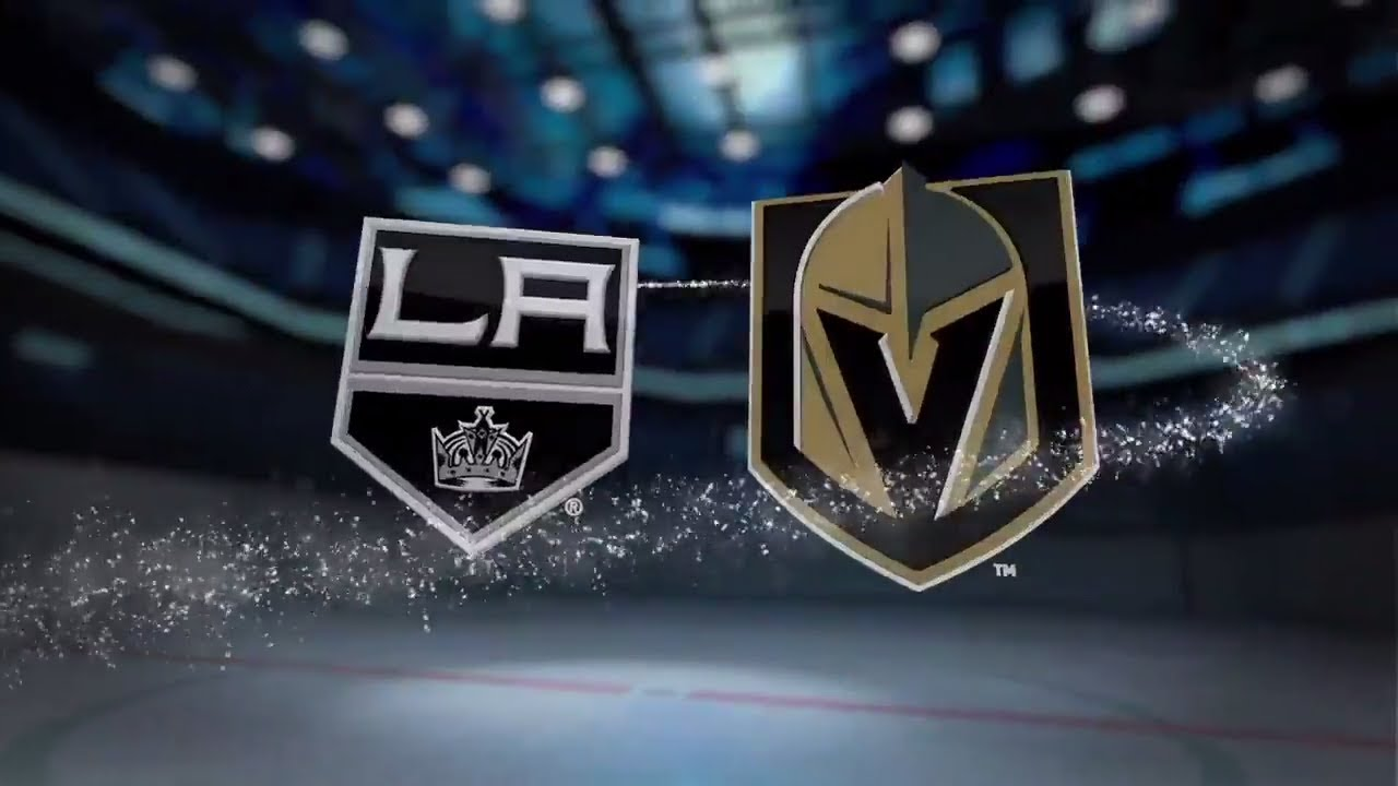Image result for Vegas golden knights vs Los Angeles Kings
