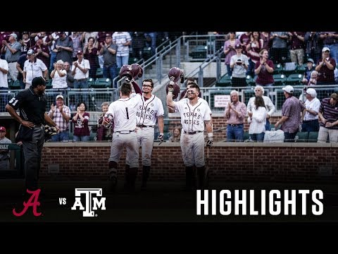 Baseball: Highlights | A&M 9, Alabama 6