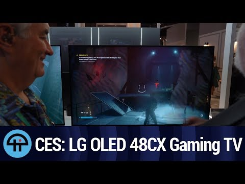 LG OLED 48CX Gaming TV at CES 2020