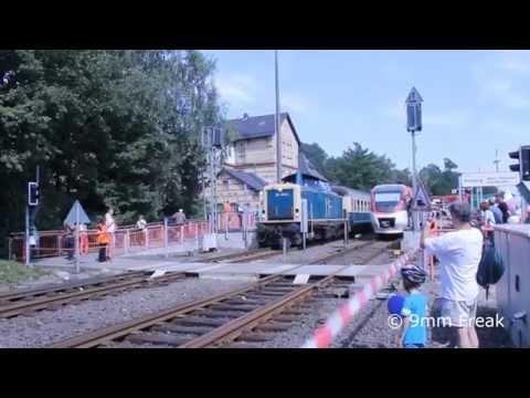 Regiobahn Sommerfest 2015 - Historische Dampflokfahrt Teil 2/2