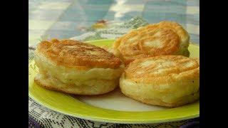 Очень вкусные домашние беляши с мясом на кефире