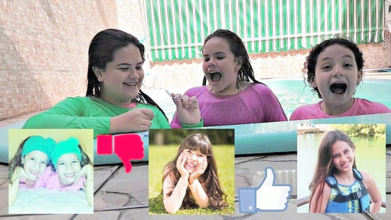 LIKE, DISLIKE OU GRAVA JUNTO! Com Diário da Carol e Milena Lira