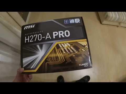 Майнинг MSI H270A-PRO запуск и настройка 6 GPU