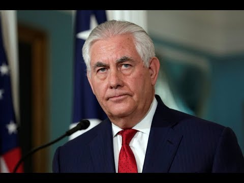 WATCH: Sec. Tillerson expected to discuss U.S.-India relations at national security think-tank