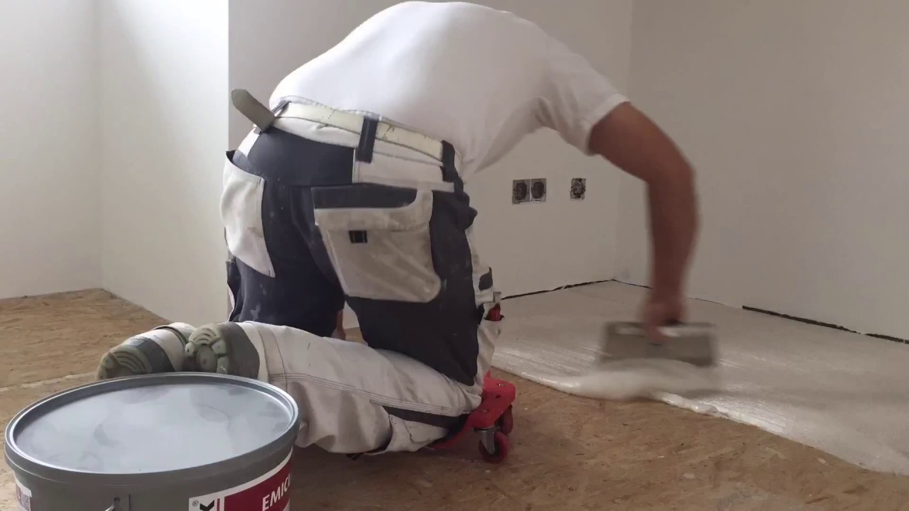 Teppich Verlegen + Doppelschnitten - Youtube
