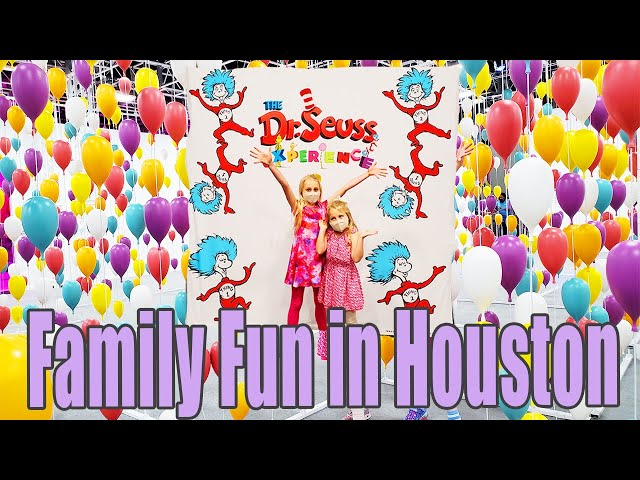 FAMILY FUN IN HOUSTON   The Dr. Seuss Experience Houston 2021   Life Size Story Play For Families