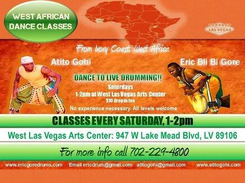 Eric Bli Bi Gore & Atito Gohi (Las Vegas) African Dance**READ DESCRIPTION BOX**