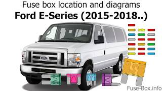 fuse box location and diagrams: ford e-series (2015-2018..) - youtube  youtube