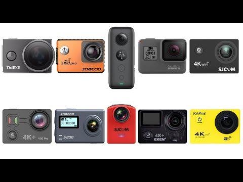 ТОП 10 лучших экшн камер 2018 года. Обзор лучших недорогих мини экшен камер. Лучшая камера Xiaomi.