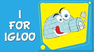 I For IGLOO   What Is An Igloo   ABC Song   Alphabets Song For Tiny Tots
