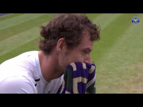 An emotional team Murray celebrate Wimbledon title No.2