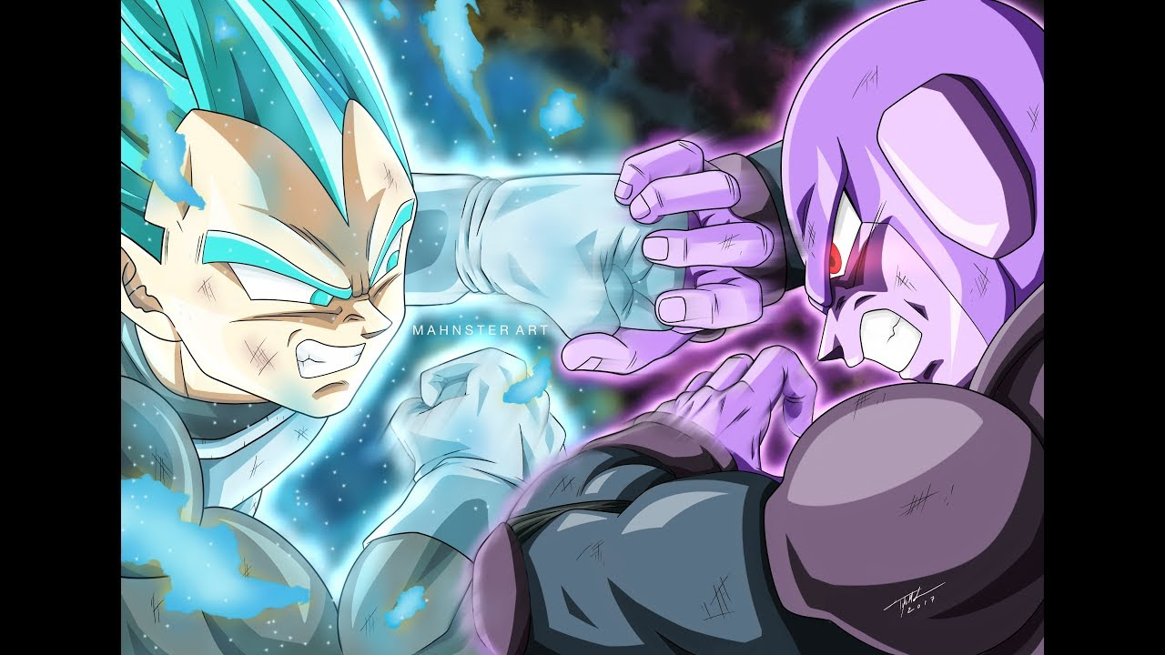Drawing Vegeta Blue Vs Hit Fan Favor Friday Dragon Ball Super Sketchbook Pro Mahnster Art