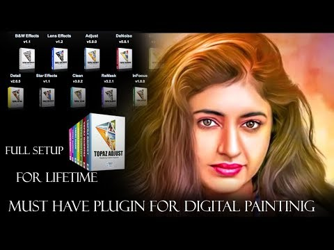 How To Install Topaz Filters | Photoshop Plugins(both 32 & 64 Bit) With Download Link | Mv