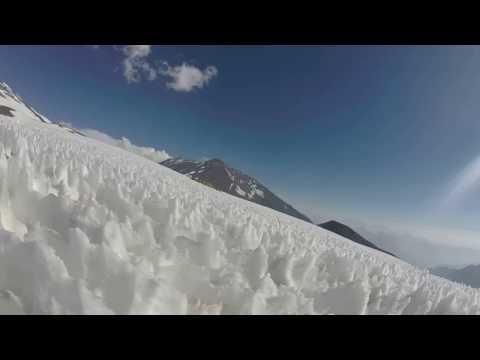 Cerro Marmolejo - Ice Formations, Penitentes