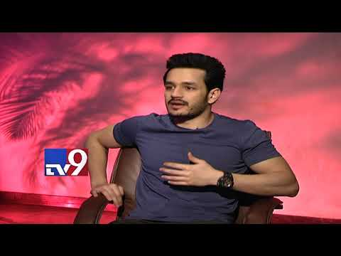 Akhil Akkineni on arriving as an actor || Hello movie - TV9