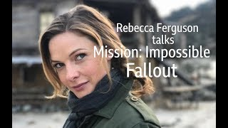 Rebecca Ferguson interviewed by Edith Bowman